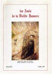 Bulletin Les Amis de la Vieille Navarre 1999