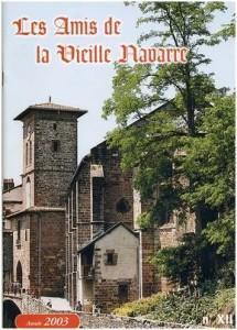 Bulletin Les Amis de la Vieille Navarre 2003