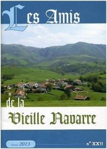 Bulletin Les Amis de la Vieille Navarre 2013